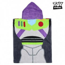 Serviette poncho avec capuche Buzz Toy Story 75515 Coton