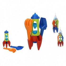 Set de jouets de plage Rocket (3 pcs)