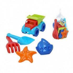 Set de jouets de plage Color Beach Plastique (5 Pcs)