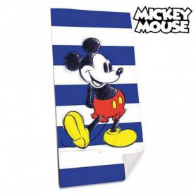 Serviette de plage Mickey Mouse (75 x 150 cm)