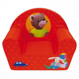 Fun House Petit Ours Brun fauteuil club en mousse