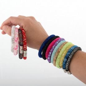 Bracelet Brillant avec Fermoir Aimanté