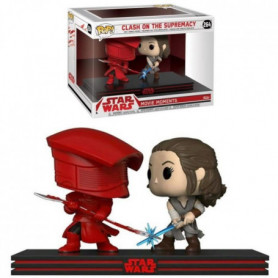 2 Figurines Funko Pop! Movie Moment - Star Wars Ep.8