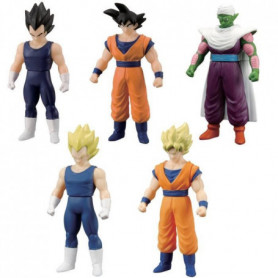 DRAGON BALL Z Pack 5 Figurines 10 cm