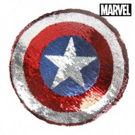 Coussin Sirène Magique à Paillettes The Avengers 74488 Bleu (30 X 30)