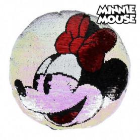 Coussin Sirène Magique à Paillettes Minnie Mouse 74491 (30 X 30 cm)