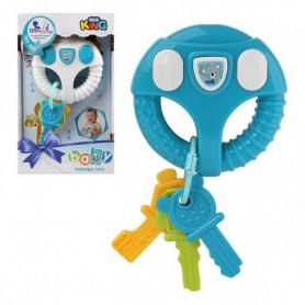 Jouet interactif pour bébé Bleu