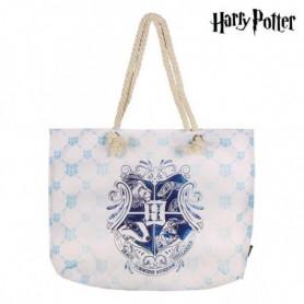 Sac de plage Harry Potter 72925 Turquoise Coton