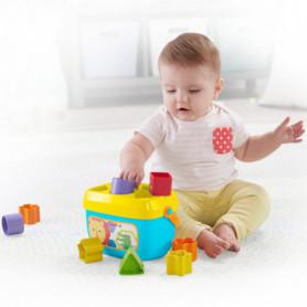 Panier avec blocs de construction Mattel 10 pcs (6+ mois)