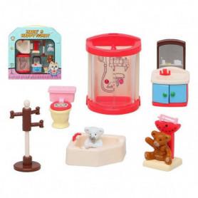 Accessoires pour maisons de poupées Manx's Bathroom 118698