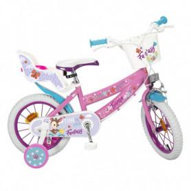 "Vélo pour enfants Toimsa Fantasy Walk 12"" Rose Blanc"