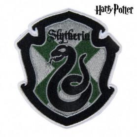 Patch Slytherin Harry Potter Vert Gris Polyester