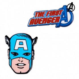 Broche Captain America The Avengers Bleu