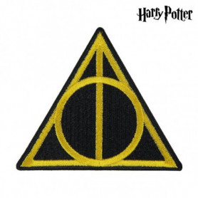 Patch Harry Potter Jaune Noir Polyester