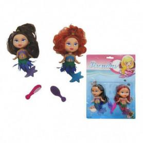 Set de Poupées Little Mermaids (2 uds)