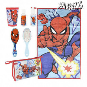 Trousse d'écolier Spiderman (6 pcs) Rouge Bleu