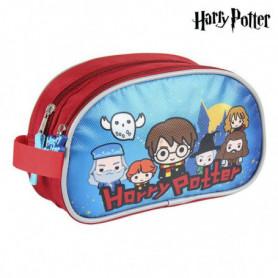 Trousse d'écolier Harry Potter Bleu