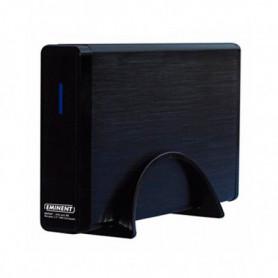"Boîtier Externe Eminent EW7047 2.5"" - 3.5"" IDE / SATA USB 2.0 Noir"