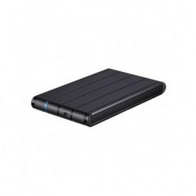 """Boîtier Externe TooQ TQE-2530B HDD 2.5"""" SATA III USB 3.0 Noir"""