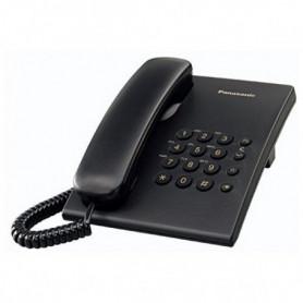 Téléphone fixe Panasonic KX-TS500EXB Noir