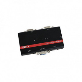 approx! APPKVMUSB2PV2 Commutateur KVM USB/VGA