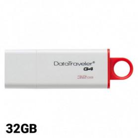 Pendrive Kingston FAELAP0240 DTIG4 32 GB USB 3.0 Blanc Rouge