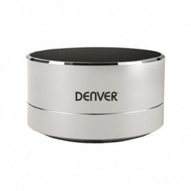 Enceinte Bluetooth Sans Fil Denver Electronics BTS-32 3W Argent