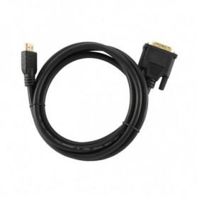 Câble HDMI vers DVI GEMBIRD CC-HDMI-DVI-6 1,8 m Noir