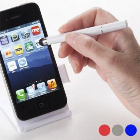 Support pour Smartphone avec Stylo à Bille Bicolore 144151
