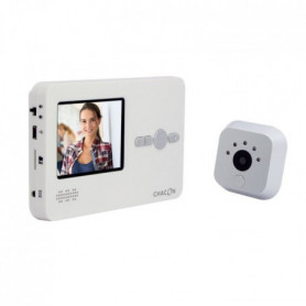 CHACON Interphone vidéo avec judas digital avec éc