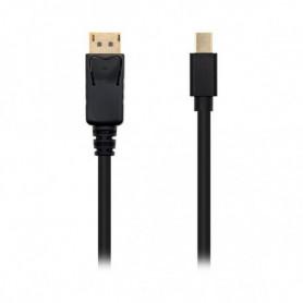 Câble Mini DisplayPort vers DisplayPort NANOCABLE 10.15.240 Noir
