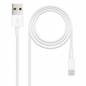 Câble Lightning NANOCABLE 10.10.0402 (1 m) Blanc