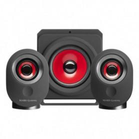 Haut-parleurs pour jeu Mars Gaming MSX Bluetooth 35W Noir