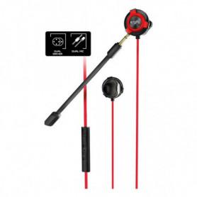 Casques avec Micro Gaming Energy Sistem ESG-1 3.5 mm Noir Rouge
