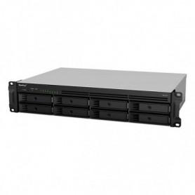 Stockage en Réseau NAS Synology RS1219+ Atom C2538 2 GB RAM Noir