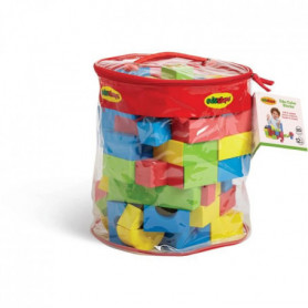 BSM Lot de 80 Pieces de construction mousse Edu Blocs