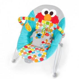 BRIGHT STARTS transat bébé vibrant I Spot Elmo!