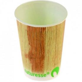 NATURESSE - 5235-12 - 12 Gobelets - Cellulose + PLA