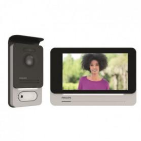 """PHILIPS Visiophone 2 fils écran tactile ultra plat couleur 7"""""""