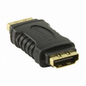 NEDIS HDMI Adapter - HDMI Female - HDMI Female - Noir