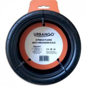 URBANGO Lot 2 pneus plein - Haute qualité - Anti-Crevaison