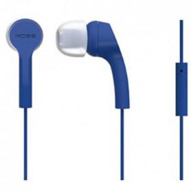 KOSS Casque intra-auriculaires stéréo KEB/9iB - Bleu