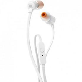 JBL T110 Ecouteurs intra-auriculaire filaire - Blanc
