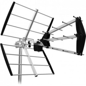 ASTRELL 011038 Antenne d'extérieur UHF trinappe 16 éléments 15 dB