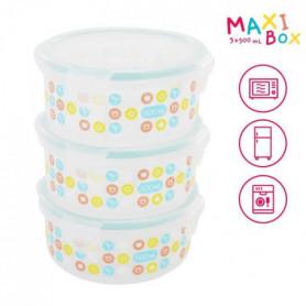 BADABULLE MaxiBox - 3x500 ml