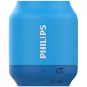 Philips UpBeat Enceinte portable sans fil - Bluetooth - Bleu