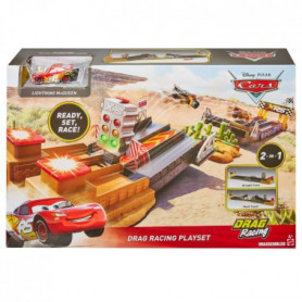 Disney Cars - Disney Cars Xrs Coffret Drag Racing  - 4 ans et +