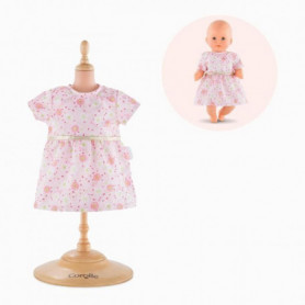 COROLLE Robe rose pour poupon - 30 cm