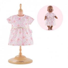COROLLE Robe rose pour poupon - 36 cm