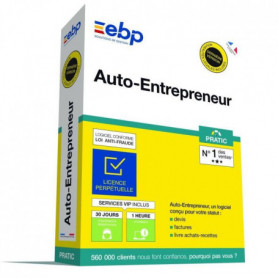 EBP Auto-Entrepreneur Pratic + VIP